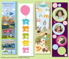 Very cute growth charts!