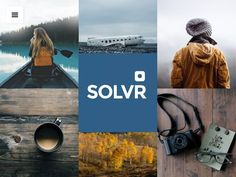Solvr theme for instagrammers by Tumblr Themes on @creativemarket
