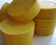 Carrot Banana Facial Soap for Mature Skin - Dallas Soap Company