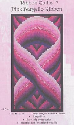 cancer, ribbon, quilt