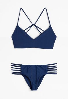Deb Bikini Top + Shifty Sherman Bikini Pant in Salute #boysandarrows