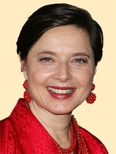 Isabella Rossellini, actress, age 61