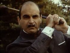 A celebration of the complete tv series Agatha Christie's Poirot starring the incomparable David Suchet as M Poirot. Agatha Christie's Poirot, Hercule Poirot, Detective, I Love The World, David Suchet, Miss Marple, Crime Fiction, Murder Mysteries, Oui Oui