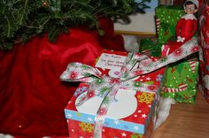 Christmas Eve Surprise box could include: pajamas, popcorn, hot cocoa, new ornament, reindeer food, a key for Santa (we don't have a chimney)...
