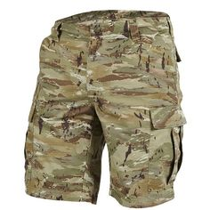 K05011 - 50 PentaCamo Βερμούδα Pentagon  BDU Shorts High density quick drying 65% Polyester 35% Cotton Rip-stop fabric 215gsm., long lasting  and triple stitched on all stress points and contemporary fitting.