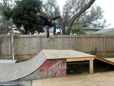 wikiHow to Build a BMX Wooden Ramp -- via wikiHow.com