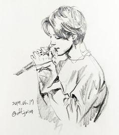 Jimin Fanart, Kpop Fanart, Kpop Drawings, Doodle Drawings, Human Sketch, Chinese Drawings, Bts Chibi, Star Art, Manga Drawing