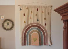 Wanddoek gemaakt voor kinderdagverblijf. Van, Curtains, Shower, Prints, Painting, Style, Rain Shower Heads, Swag, Blinds