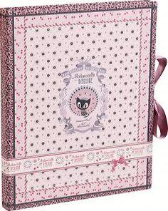 Mademoiselle de Luxe, Korrespondenzset mit Block DIN A5 50 Blatt und 10 Umschlägen C6