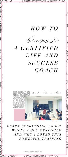 How To Get Certified As A Coach in NLP, Success + Life Coaching and Hypnotherapy - My best education list Life Coaching Tools, Leadership Coaching, Online Coaching, Coaching Quotes, Educational Leadership, Affirmations, Life Coach Certification, Nlp Certification, Becoming A Life Coach