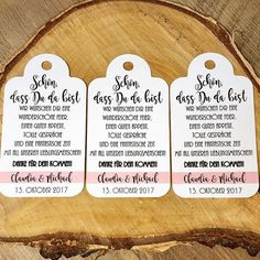 Ihr möchtet Euren Hochzeitsgästen eine besondere Freude bereiten, dann biete ich Euch mit ganz viel liebe gestaltete Anhänger für Gastgeschenke oder Willkommenskarten fürs Besteck.  Papierfarbe,...