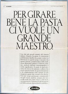 1990 barilla spot pubblicitario mulino bianco con le for Da dove proviene il grano della barilla