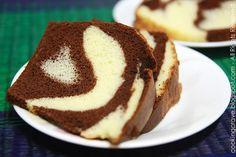 Chocolate Marble Chiffon Cake