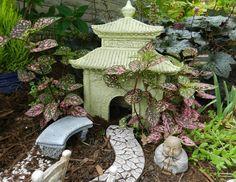 Genial Fairy Garden Asian | An Asian Inspired Fairy Garden. | Fairy Houses/gardens  | Pinterest | FAIRY GARDENING | Pinterest | Fairy Houses And Gardens