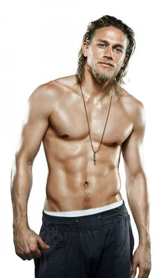 I'm not s huge fan of blonds...but Charlie Hunnam is definitely an exception