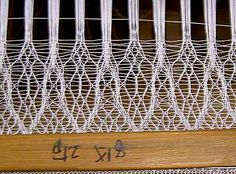 ra on loom-Article on Japanese leno weave. This material is woven with different types of leno weave.