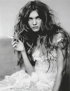 natalia vodianova shot by paolo roversi for vogue italia