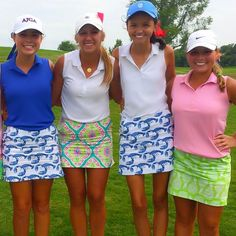 Who wouldn't love a bunch of golf girls?