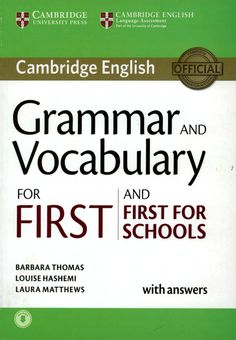 Grammar and vocabulary for first 2015
