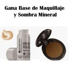 Gana BaseMaquillaje y SombraMineral ^_^ http://www.pintalabios.info/es/sorteos-de-moda/view/es/4544 #ESP #Sorteo #Cosmetica