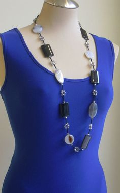Stone Necklace style-3 available at Bellissima
