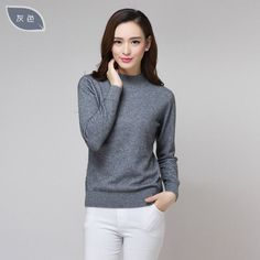 New product Quality Cashmere High Collar Full Slim Fashion Winter pullover Sweater Women Brand Some Countries Free Shipping