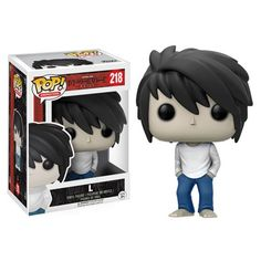 (affiliate link)  Death Note L Pop! Vinyl Figure