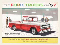 1957 Ford Trucks Brochure | OldBrochures.com