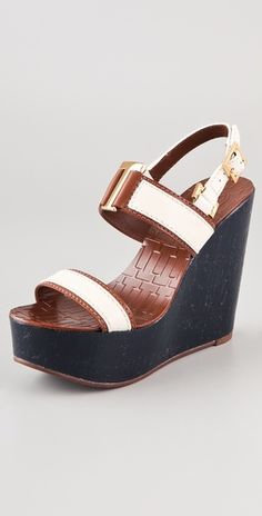 Tory Burch - Angeline Wedge Sandals
