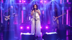 """Bibi Bourelly, a Moroccan-Haitian artist, is the songwriter behind some of the most popular singles by artist Rihanna and has worked with famous artists such as Kanye West, Pharrell Williams, and Lil Wayne. Bibi Bourelly's not a household name yet, but she's making her way to that point. On Tuesday night, the late night TV audience was treated to the singer's performance of her song """"Ballin'"""" when she appeared as the musical guest for [ 132 more words ]"""