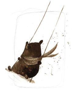 bear on swing