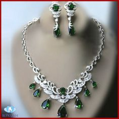 hot fashion women custome zircon jewelry sets designs $174.00