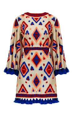 Isula Wing Sleeved Mini Dress by MOCHI for Preorder on Moda Operandi