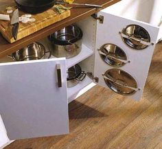 30 Space Saving Ideas and Smart Kitchen Storage Solutions – Lushome