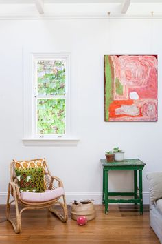 The home of Fiona Bateman via thedesignfiles.net