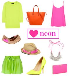 Looking for somewhere to start this summer... neon- spring and summer trend 2013