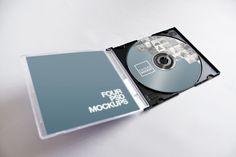 CD-DVD Jewel Case Mockup Pack - Original Mockups