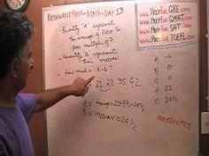 Math Problems Day 13 - Average - Prep for GRE, GMAT, SAT - Online Tutor ...