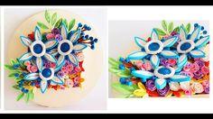 quilling flowers #quilling #flower # design # paper #paperquilling #quillingflowers #quillingart #papercrafts #paperart #paperflowers #handmade #learning  #tutorial 종이감기#종이감기공예#종이감기꽃#종이공예#종이꽃#핸드메이드#クイリング#ペーパークラフト#手作り