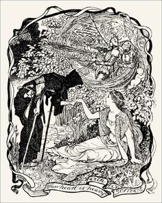Henry Justice Ford, The violet fairy book (Great Britain, 1906)
