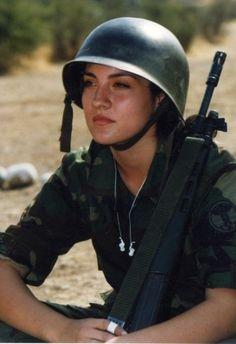 Chilean Female Soldier