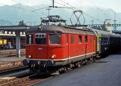 Schweizerische Bundesbahnen (SBB) / Chemins de fer fédéraux suisses (CFF) / Ferrovie Federali Svizzere (FFS), Re 4/4 I 10029