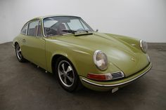 1968 Porsche 911L Coupe, chassis# 11805068 engine#6451401, color code#6828 golden green with brand new black interior and red seats, very unique color combination that attracts a lot of attention. Overall this is an excellent car with lots of character and would make a great addition to any collection whether you're a collector or enthusiast, mechanically sound. For $34,750    If you have any additional questions Please call 310-975-0272