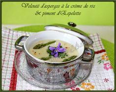 Potage aux asperges