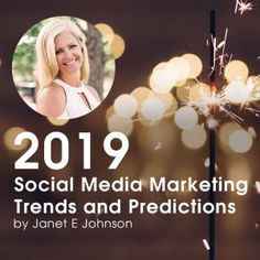 2019 Social Media Marketing Predictions Facebook Advertising Tips, Facebook Marketing, Content Marketing, Social Media Marketing, Instagram Tips, Pinterest Marketing, Social Media Tips, Giveaways, Over The Years