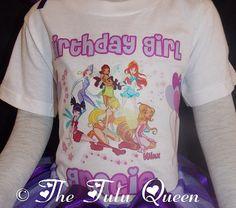 Winx Club Birthday T Shirt