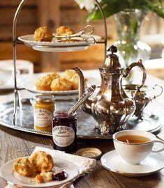 la hora del té de lujo