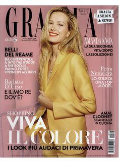 Grazia April 2015 Cover
