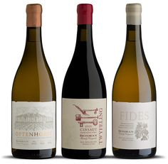 Bosman Family Vineyards commissioned us to do the packaging design for three very special wines.