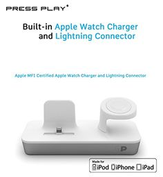 ONE Dock Duo APPLE CERTIFIED Charging Station Dock & Stand With Built-in Charger for Apple Watch [Series 1 & 2] Smart Watch, iPhone, and iPod http://www.findcheapwireless.com/one-dock-duo-apple-certified-charging-station-dock-stand-with-built-in-charger-for-apple-watch-series-1-2-smart-watch-iphone-and-ipod/